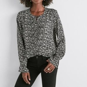 Lucky Brand Parisian Ditsy Top Floral